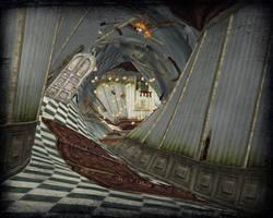 XNALara - Twisted corridor (AIW) by deexie