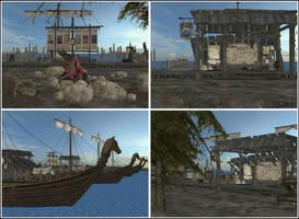 Docks by deexie