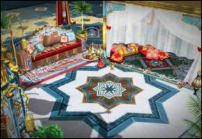 Arabian Nights [XPS] by deexie