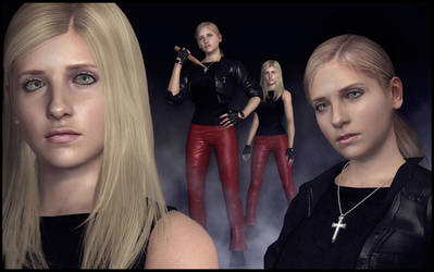Buffy Summers [XPS] by deexie