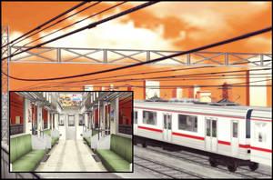 Train (dawn) [XPS] by deexie