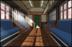 Train (inside) [XPS] by deexie