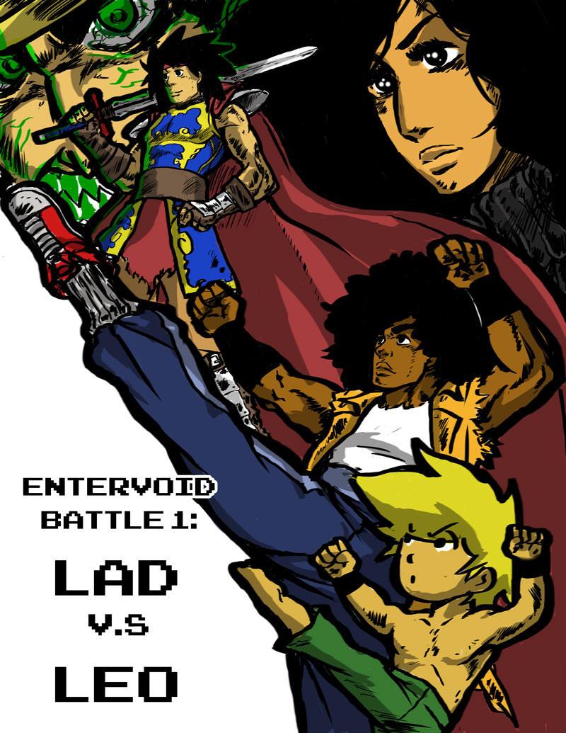 Void Battle 1 LAD vs LEO Cover Page by KingofLions