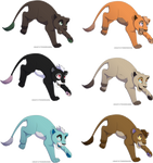 Lion Cub Adopts (6 Points Each) Closed by Shadowhawk-Adopts