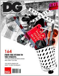 DG Magazine Cover by Chamelia