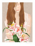 Lillies by Chamelia
