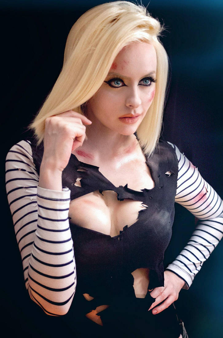 Android18 by KasuzameYuu