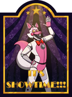 IT'S SHOWTIME!!! by dompteuseArtist