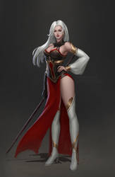 Character concept - Practice by VivianMeow