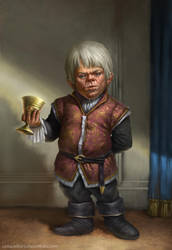 Tyrion Lannister by litanilitani