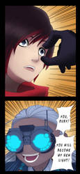 You, Ruby! You will become my new light! by Santafer