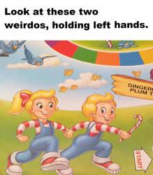 Left hand Running by JAVA-MOCHA
