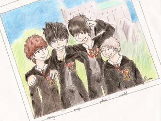 HP - Marauders by manga-ghost