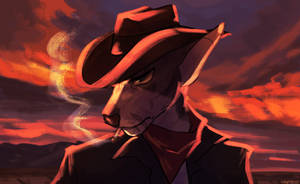 dramatic cowboy vibes by captyns