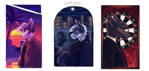 Portrait Thumbs 4-6 by captyns