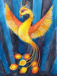 Phoenix (pre-sketch) by genetux