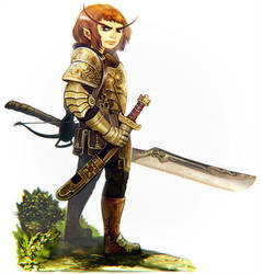 Glairvindel Fastidious Sharpshooter by Corbella