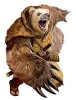 Bear - Gorobei by Corbella