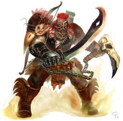Chamara Infernal Champion by Corbella