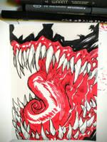 Inktober day7: Venom by Corbella
