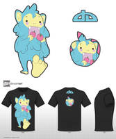 Sasquatch-Cute Monsters Contest by Kuroi-Nekomata