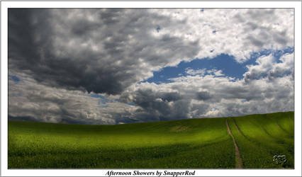 Afternoon Showers by SnapperRod