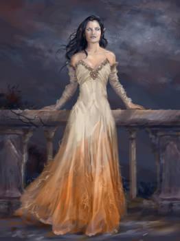 Melian of the Silmarillion by AndrewRyanArt