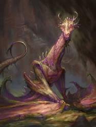 dragon by AndrewRyanArt