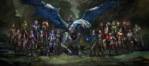 Dragon Effect by AndrewRyanArt