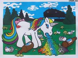 Rave Unicorn by Fomsie