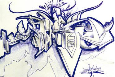 3D Sketch by vega0ne