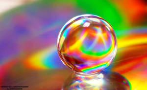 rainbow ball by lindahabiba