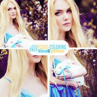 [PSD05 coloring] Blue and Yellow by NikiBigbangGD