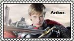 Jumbo Arthur Pendragon Stamp by MrsNox