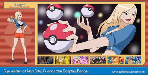 Pokemon Jessica Nigri - Gym Leader by iurypadilha