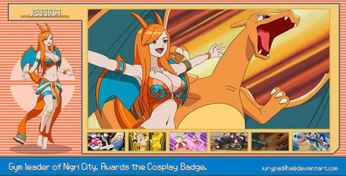 Pokemon Jessica Nigri - Charizard by iurypadilha