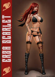 Commission: Erza Scarlet by iurypadilha