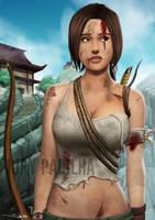 Commission: Lara Croft 2 by iurypadilha