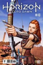 Horizon Zero Dawn Comic Book Idea by iurypadilha