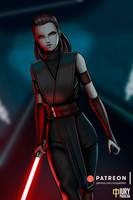 Patreon: Lady Sith Rey by iurypadilha