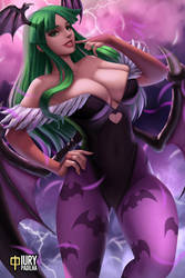 Morrigan Aensland: Print Available by iurypadilha