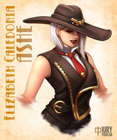 Overwatch: Ashe by iurypadilha
