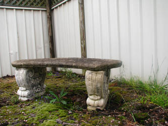 Object Stock - Stone Chair 02. by stock-basicality