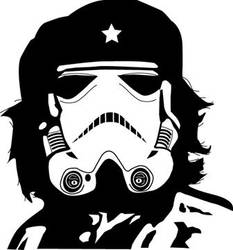 Che the Trooper T-Shirt Design by nosurprises