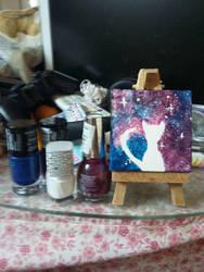 galaxy cat by Xxkillerkitty123456
