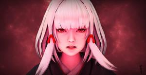 Shiragiku seeing red by lordLKkamikaze