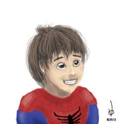 Like Spiderman by volnaib