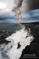 Coastline plume by extremeimageology