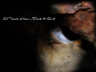 Touch of fear dark and evil by alsjka