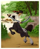 The Centaur Kiraz by Kitsune64